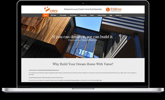 Yates Dream Builders MacBook Pro