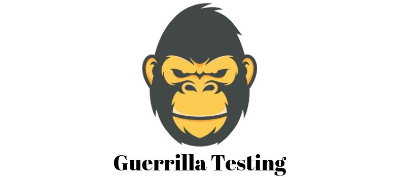 Guerrilla testing